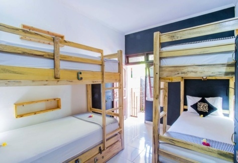 Dorm 4 bunk bed- $45 USD for 5 nights