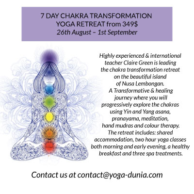 7 Day Chakra Transformation Yoga Retreat, best yoga retreat ubud, yoga retreat ubud