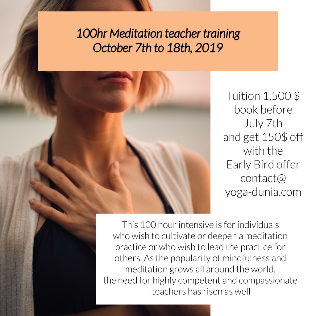100hr Meditation Teacher Training Bali, yoga teacher training ubud