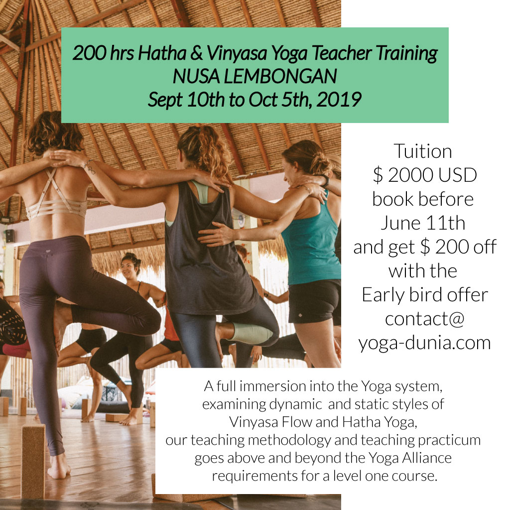 200hr Hatha/Vinyasa Yoga Teacher Training Bali, Yoga teacher training ubud
