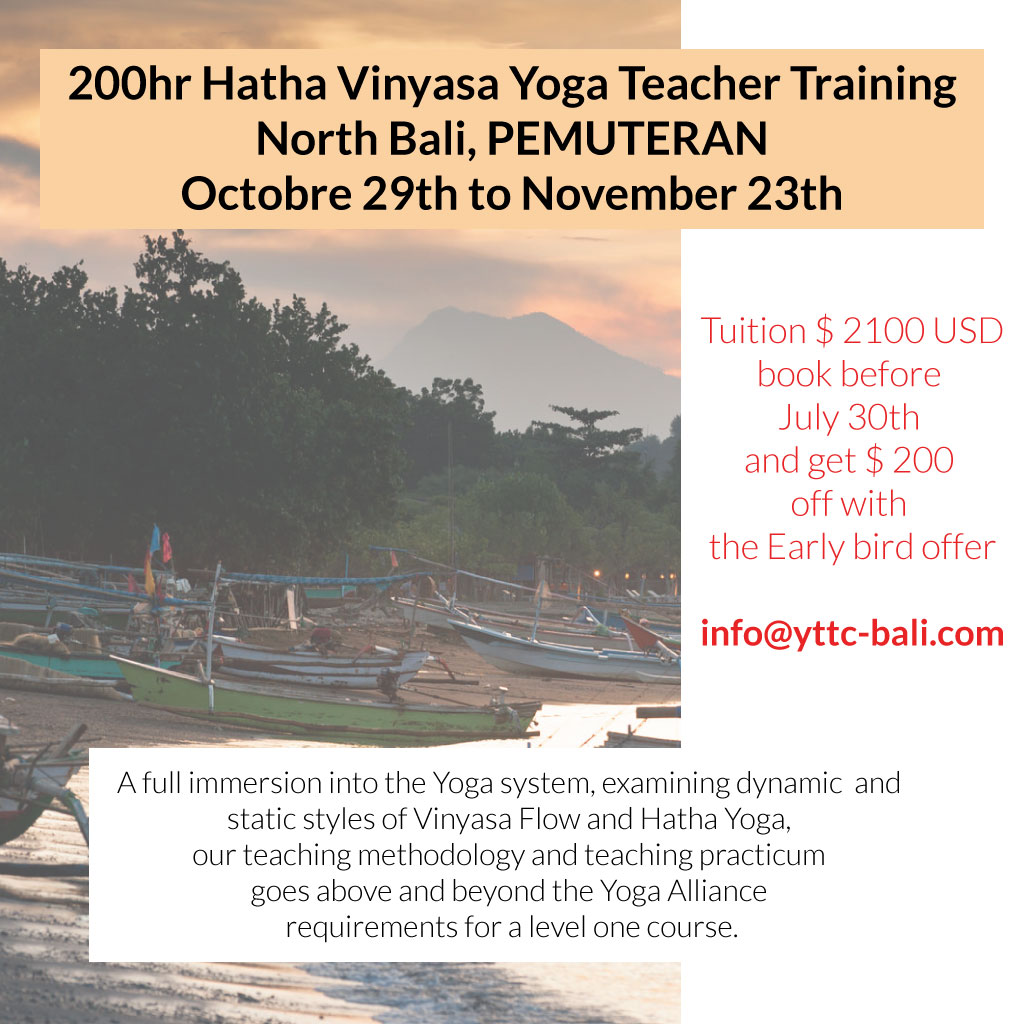 200hr Hatha/Vinyasa Yoga Teacher Training