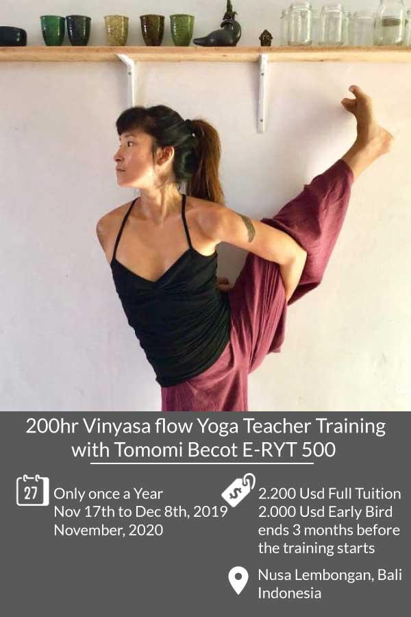 200hr vinyasa flow yoga teacher training course