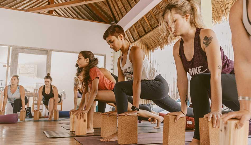 surf yoga retreat bali, training center bali