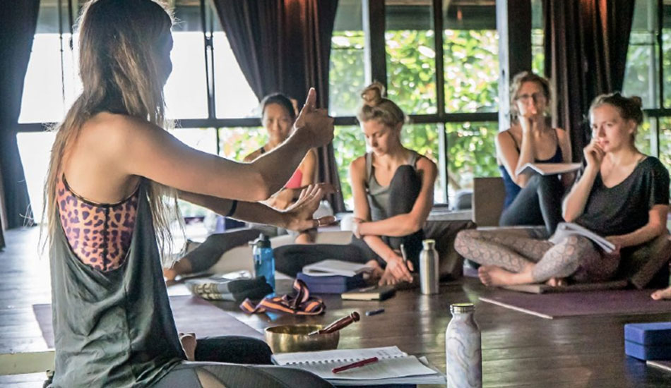 jess rose yoga teacher training bali